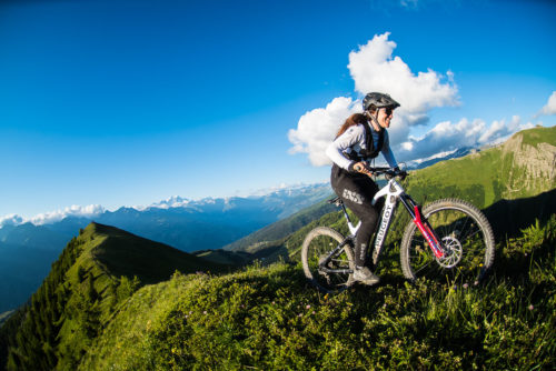 """Super Huit"" in La Plagne, the new ""all mountain"" MTB / eMTB event for 2021"